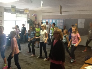 Zumba in Mrs. Browers Class